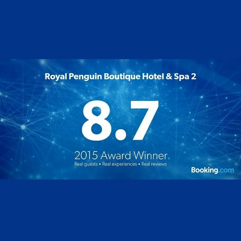 Booking.com Award of Excellence 2015